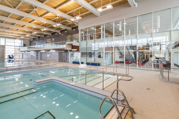 Recreation Centre, new construction, Westmount, Hamilton